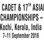 2016年アジアカデ柔道選手権大会(インド) 大会結果(16.9.8-9) | 全日本柔道連盟