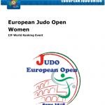ヨーロッパオープン・ローマ 日本選手団名簿(18.2.17-18) | 全日本柔道連盟